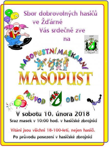 masopust 2018